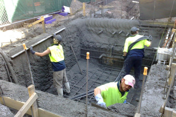 Concrete Pumping Wirral by AMAC Concrete